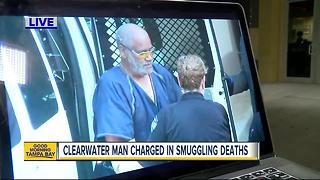 Clearwater man charged with human trafficking after 10 die in sweltering truck in Texas - Video