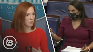 Press Sec. Struggles to Answer Why Biden Won't Push Teachers to Reopen Schools