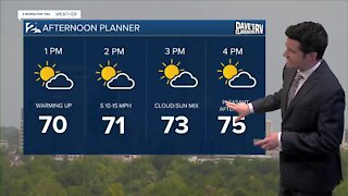 Friday Noon Weathercast