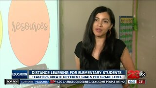 Distance learning challenges for elementary students