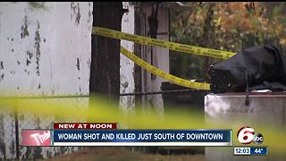 Woman found shot dead on Indy's south side - Video