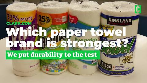 Which paper towel brand is strongest?