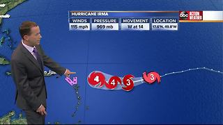 Sunday Hurricane Irma Update with Jason - Video