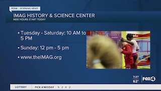 IMAG history & science center starts new hours