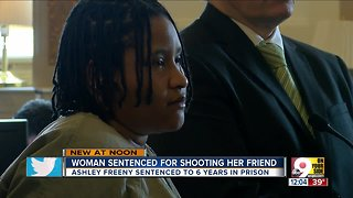 Woman sentenced for shooting friend