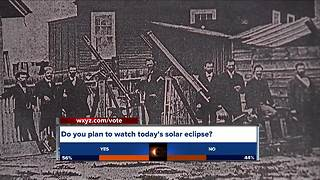 How Thomas Edison is connected to Eastern Michigan and the solar eclipse - Video
