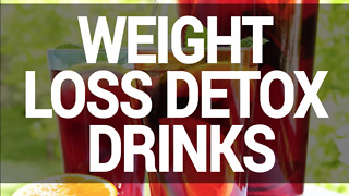 Organic home remedies: Weight loss detox drinks