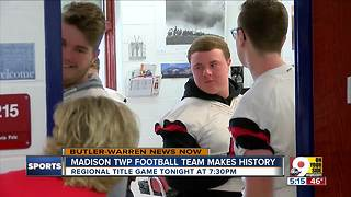 Tiny Madison Township is 'Mohawk Strong' for historic football team - Video