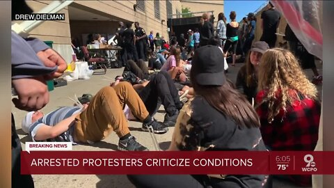 Arrested protesters complain about treatment at Justice Center