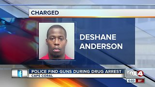 Man charged after police find drugs and guns in his Cape Coral home
