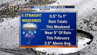WEEKEND WEATHER WOES - Video