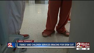 Family and Children's Services bracing for $15 million state funding cut - Video