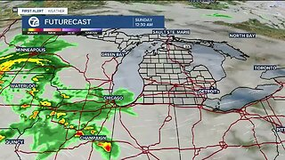 Flooding rain is possible Sunday and Monday