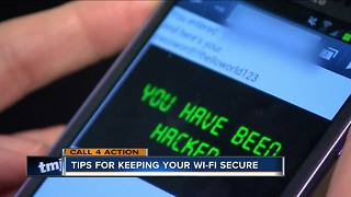Call 4 Action: Keeping your WiFi network secure - Video