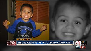 Adrian Jones's grandmother helps others heal - Video