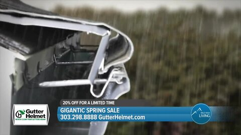 GIGANTIC Spring Sale // Improve Your Home @ 20% Off // Gutter Helmet