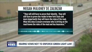 Erie County Clerk says he won't enforce Green Light Law