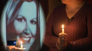 Vigil held to honor Sara Schmidt