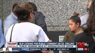 Hearing, rally on oil drilling