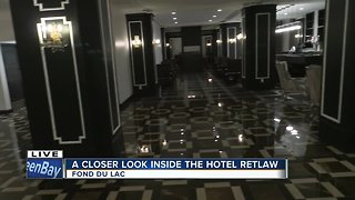 A closer look inside the Hotel Retlaw