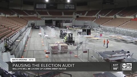 Pausing the election audit for high school graduations