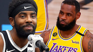Kyrie Irving Denies Throwing Shade At LeBron James, Saying KD Is The Only Shooter He's Played With