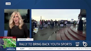 Another Rally to bring back Youth Sports to CA