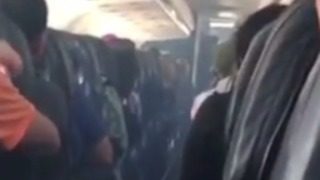Passengers Evacuated After Smoke Fills Allegiant Air Flight - Video