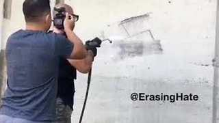 Erasing Hate Movement Tackle Hateful Graffiti - Video