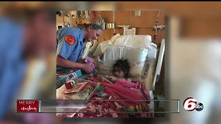 Family invited to spend Christmas Day with firefighters who saved 6-year-old girl