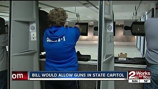Bill would allow guns in state capitol