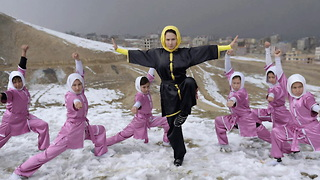 These Teenagers Are Afghanistan's First Female Wushu Warriors - Video