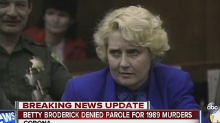 Better Broderick denied parole for 1989 murders - Video