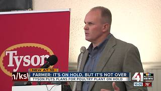 Plans for Tonganoxie chicken plant put on hold - Video