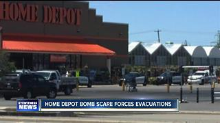 Bomb squad called to Home Depot store
