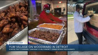 Online campaign helping minority-owned restaurants in Detroit