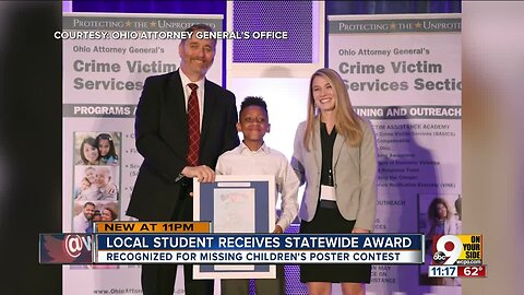 Local student a statewide Victim Assistance award winner