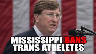 Mississippi Governor Signs Bill BANNING Transgender Athletes from School Sports