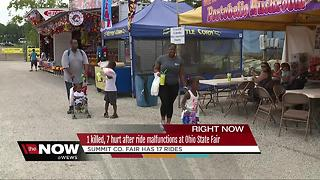 Local fair goers uncertain after Ohio State Fair tragedy - Video