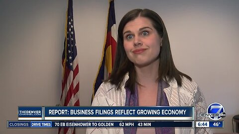 Report: Business filings reflect growing economy