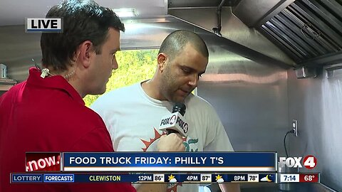Food Truck Friday: Philly T's makes Shrimp PoBoy's
