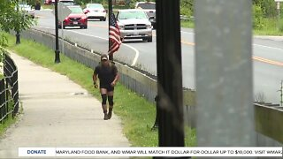Army veteran runs in honor of others