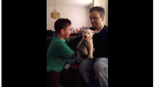 Boy Gets Really Emotional Over His Birthday Present - Video