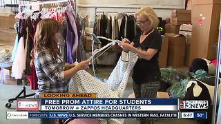 Free prom attire for Las Vegas students - Video