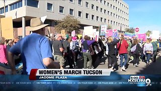Thousands take the streets for Tucson Women's March