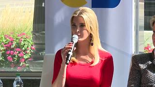 Ivanka Trump speaking in Detroit about STEM education - Video
