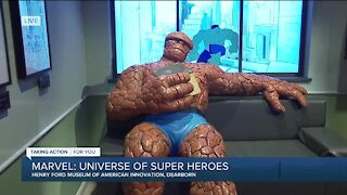 Marvel Exhibit at the Henry Ford