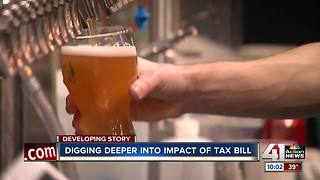 Tax bill could impact metro charities, breweries - Video