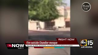Fire crews battling blaze at Chandler mosque