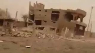 Ghost Village Near Deir Ezzor After Ongoing Airstrikes - Video